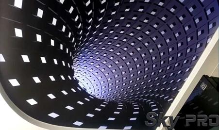 3д потолки фото