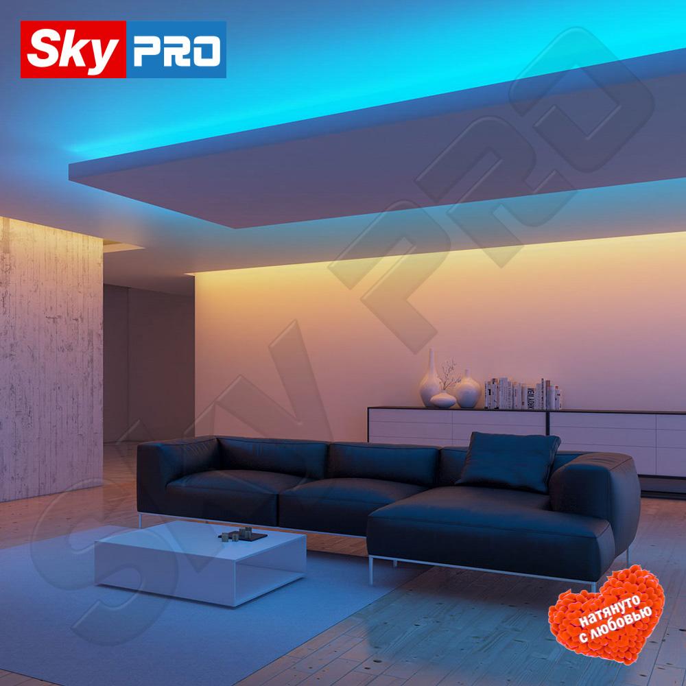 Купить многоцветную светодиодную ленту для натяжного потолка