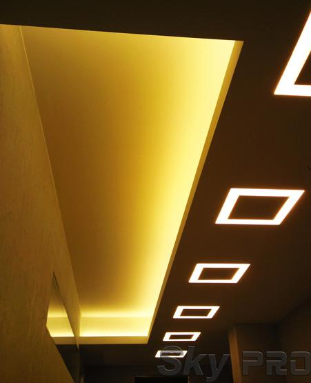 Светодиодная лента для подсветки потолка