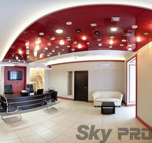 светильники в офисе SkyPRO в Москве