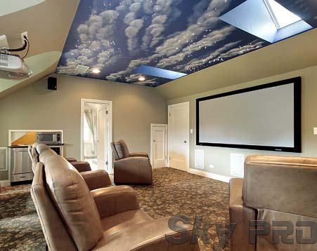 Дизайн потолков звездное небо старпинс